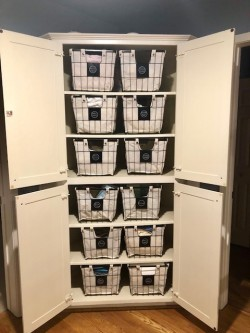 linen closet storage bins