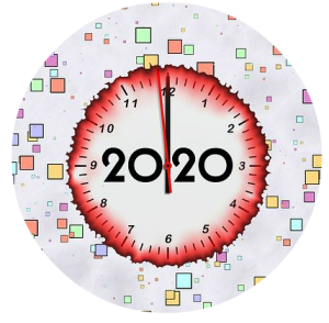 2020 graphic circle
