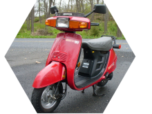 honda aero scooter crop